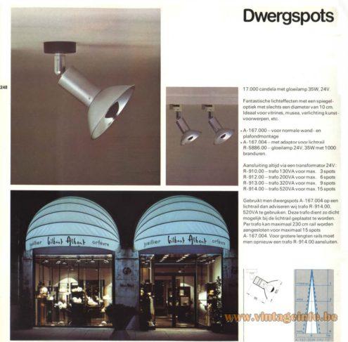 Raak Dwergspots (dwarf spotlights) A-167.000, A-167.0042