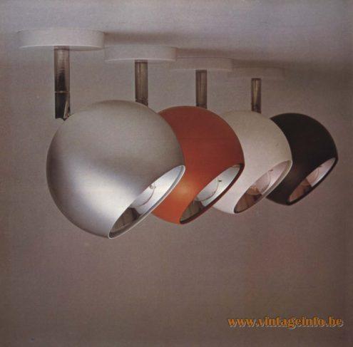 Raak Kogelronde bolspots (bullet round ball spotlights)
