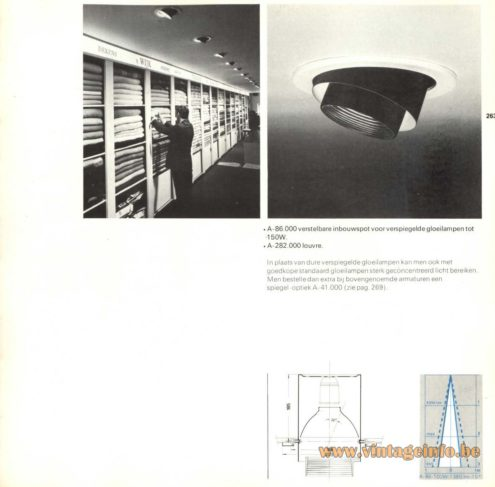 Raak Recessed Light A-86.000, A-282.000