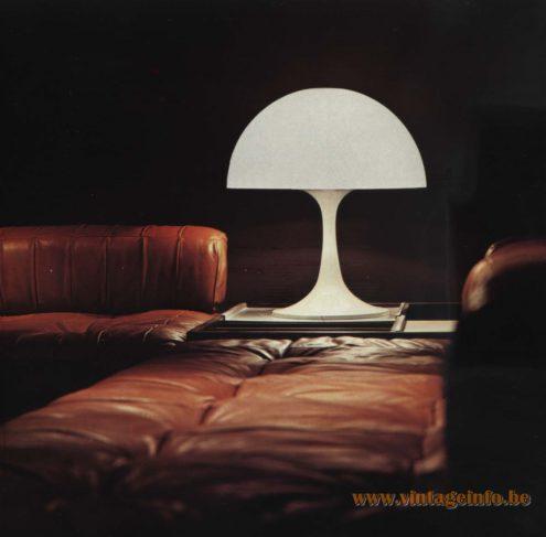 Raak 'Giant Toadstool' Table Lamp D-2128.00