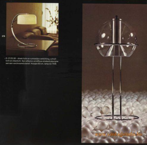 Raak Table Lamp D-2125.00