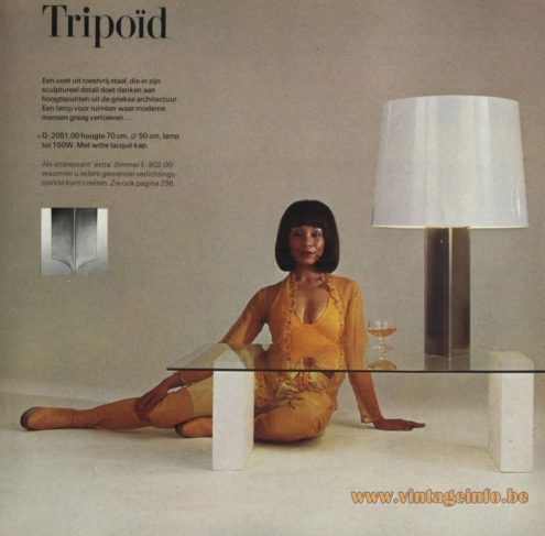Raak 'Tripoïd' Table Lamp D-2051.00