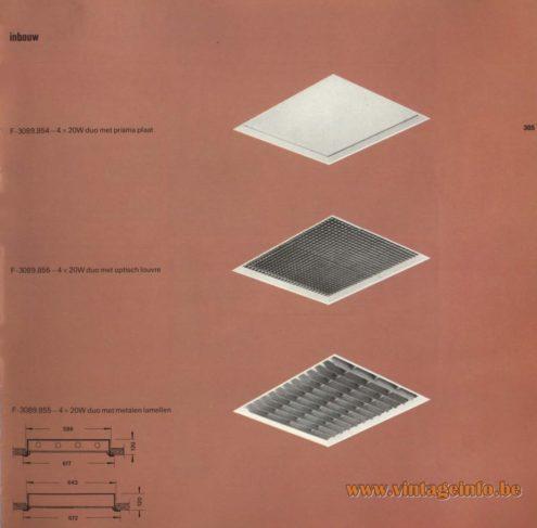 Raak Inbouw (recessed) F-3089.854, F-3089.856, F-3089.855