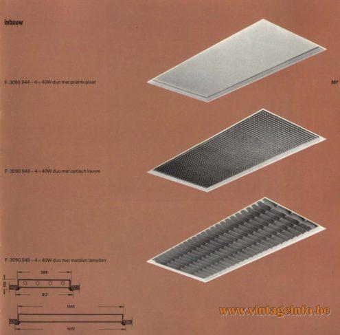 Raak Inbouw F-3090.944, F-3090.945, F-3090.946