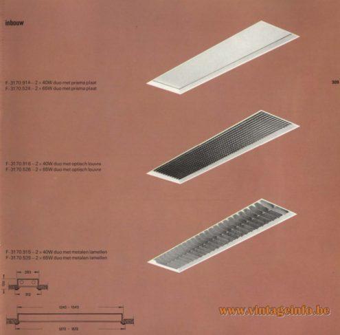 Raak Inbouw F-3170.9174, F-3170.524, F-3170.916, F-3170.526, F-3170.915, F-3170.925