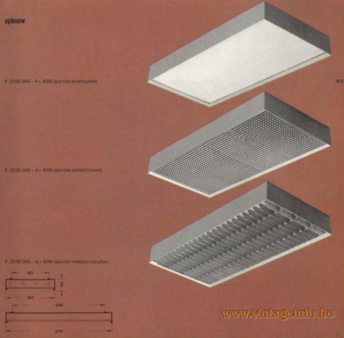 Raak opbouw F-3089.854, F-3089.856, F-3089.855