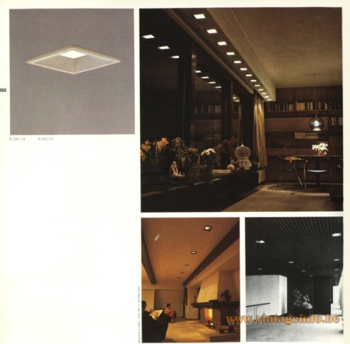 Raak R-241.14, R-242.14 Recessed Ceiling Lights