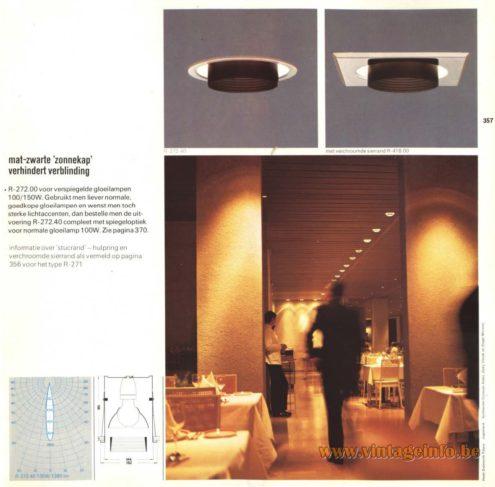 Raak 'Ringlite' R-272.00, R-272.40 Recessed Lamps