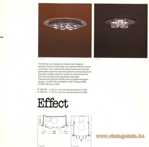 Raak 'Effect' Recessed Light R-204.00, R-395.00