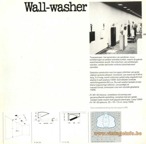 Raak 'Wall-Washer' R-341.00, R-141.00