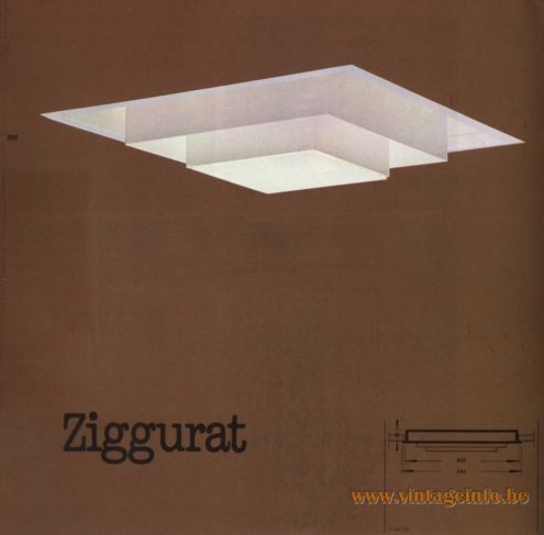 Raak 'Ziggurat' R-9.00, R-99.00 Recessed Light