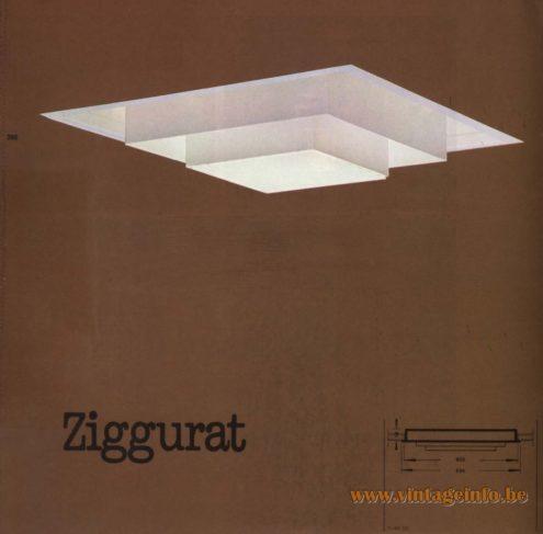 Raak 'Ziggurat' R-9.00, R-99.00 Recessed Light