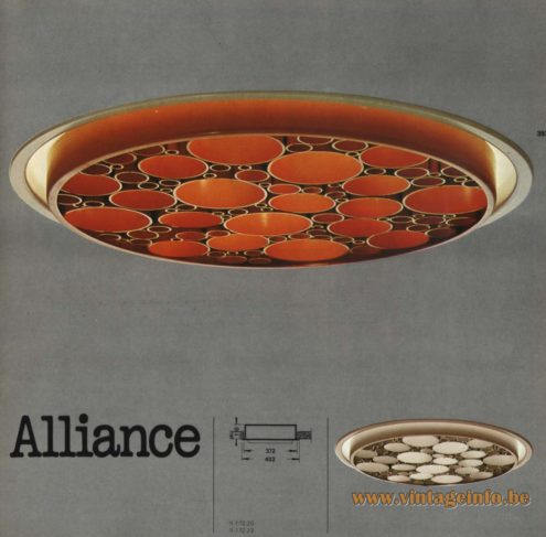 Raak 'Alliance' R-162.20, R-162.23, R-172.20, R-172.23 Recessed Light