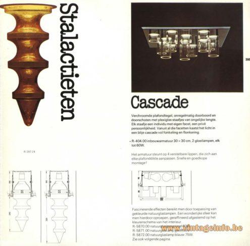 Raak 'Stalactieten' (stalactites) - Raak 'Cascade' - R-404.00