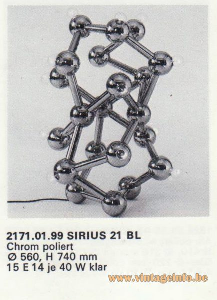 2171.01.99 SIRIUS 21 B L