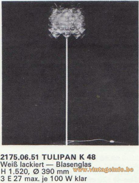Kalmar Franken KG Tulipan K 48 Floor Lamp
