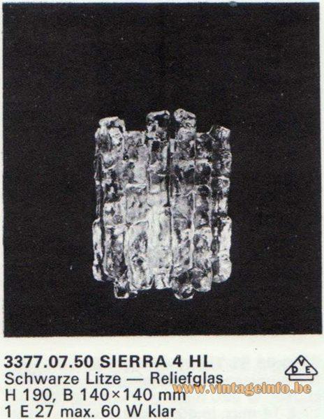 Kalmar Franken KG Tulipan Pendant Sierra 4 HL