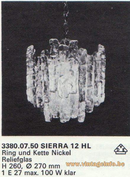 Kalmar Franken KG Pendant Light Sierra 12 HL