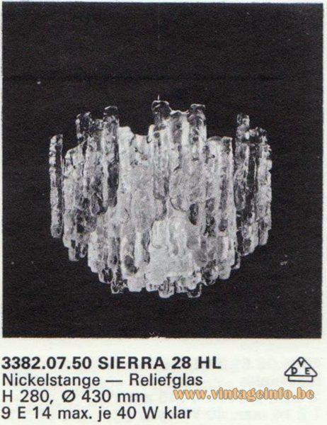 Kalmar Franken KG Pendant Light Sierra 28 HL