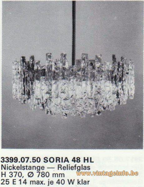 Kalmar Franken KG Chandelier Soria 48 HL