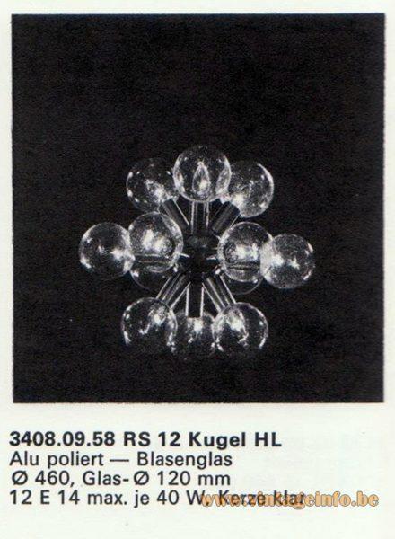 Kalmar Franken KG Chandelier RS 12 Kugel (Ball) HL
