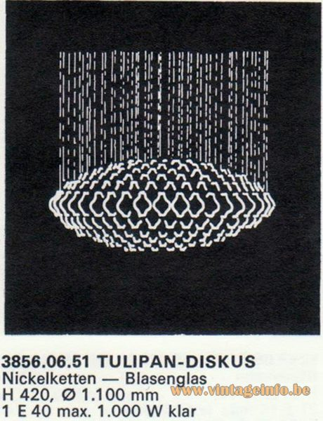Kalmar Franken KG Tulipan Diskus (discus) Flush Mount
