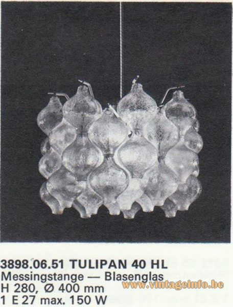 Kalmar Franken KG Tulipan 40 HL Chandelier