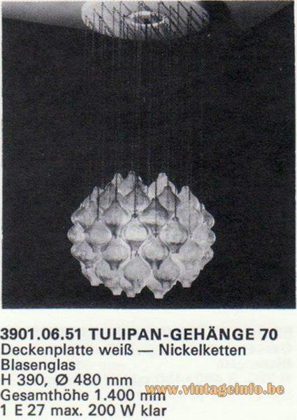 Kalmar Franken KG Tulipan 70 Flush Mount