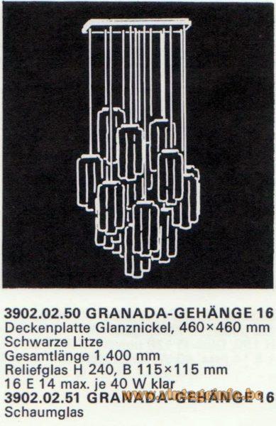 Kalmar Franken KG Pendant lights - Chandelier GRANADA 16