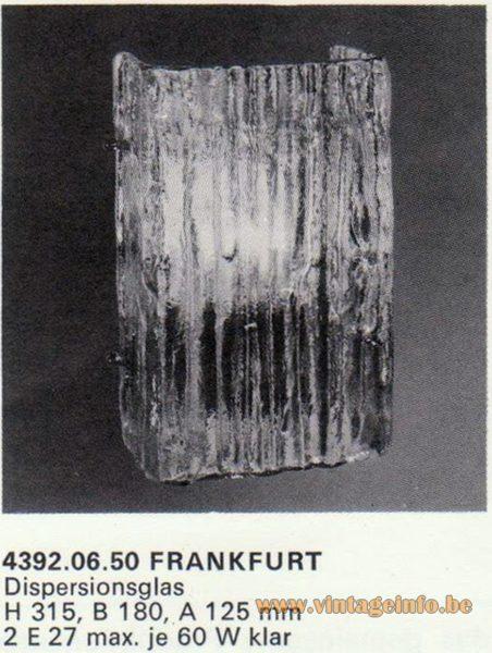Kalmar Franken KG Wall Light Frankfurt