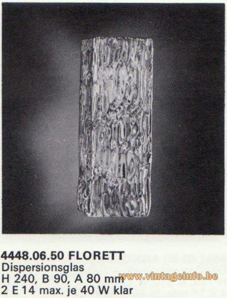 Kalmar Franken KG Wall Light Florett