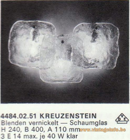 Kalmar Franken KG Wall Light Kreuzenstein