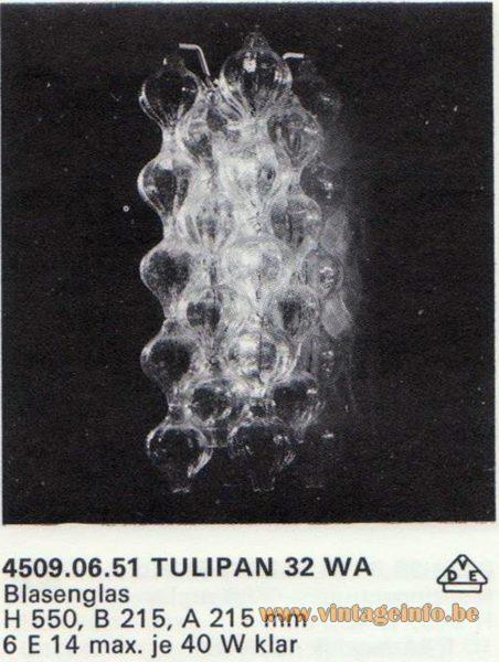 Kalmar Franken KG Tulipan Wall Lamp 32 WA