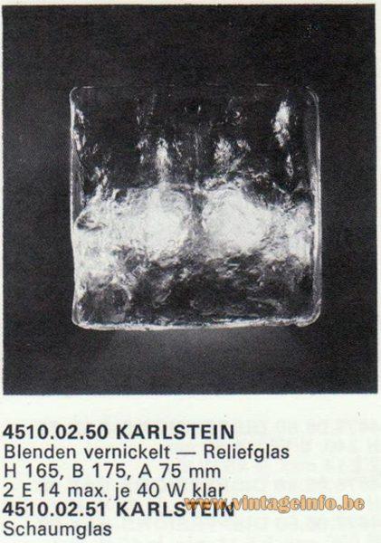 Kalmar Franken KG Wall Light Karlstein