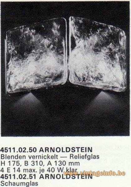 Kalmar Franken KG Wall Light Arnoldstein