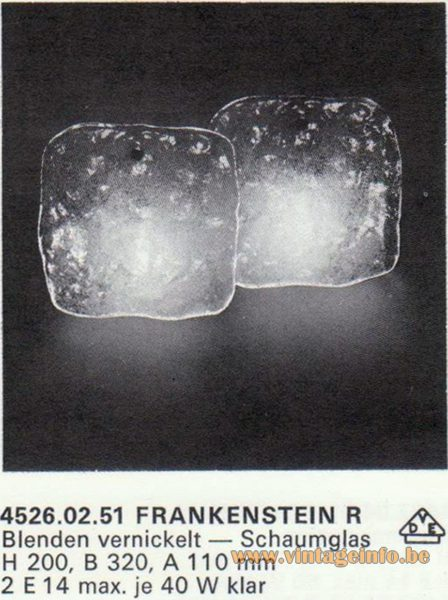 Kalmar Franken KG Wall Light Frankenstein R