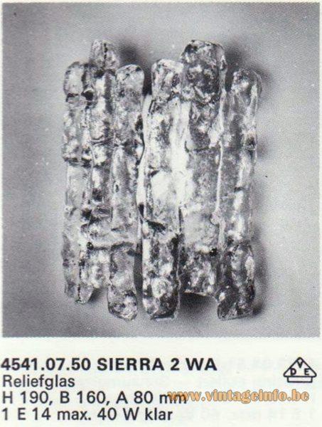 Kalmar Franken KG Wall Light Sierra 2 WA