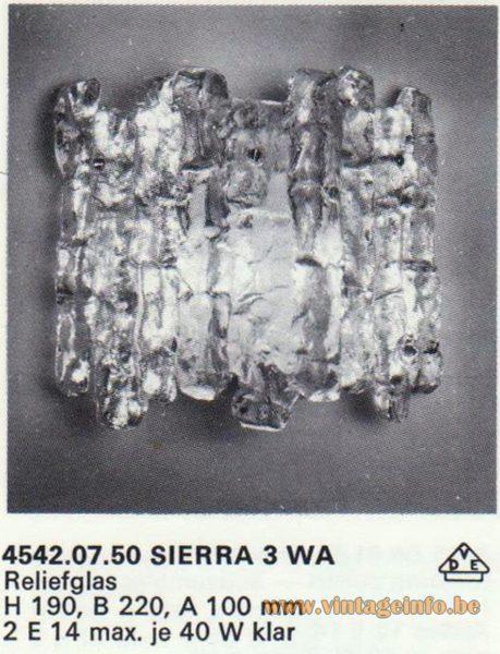 Kalmar Franken KG Wall Light Sierra 3 WA