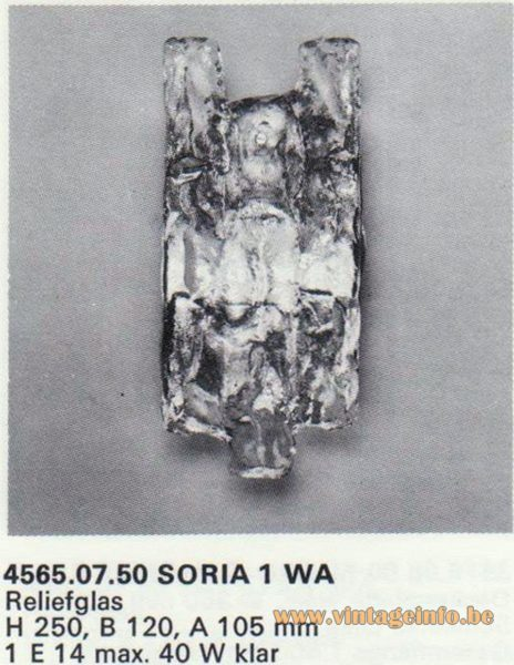 Kalmar Franken KG Wall Light Soria 1 WA