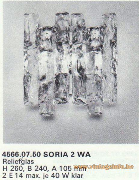 Kalmar Franken KG Wall Light Soria 2 WA