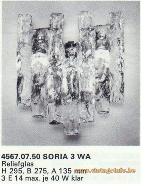 Kalmar Franken KG Wall Light Soria 3 WA