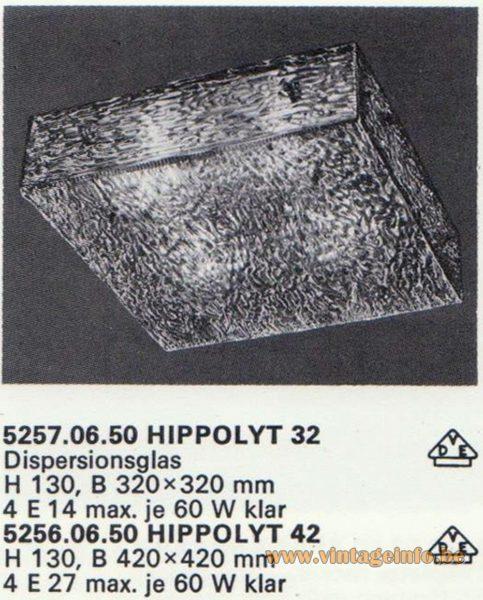 Kalmar Franken KG Flush Mount Hippolyt 32