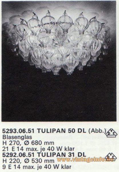Kalmar Franken KG Tulipan Flush Mount 50 DL