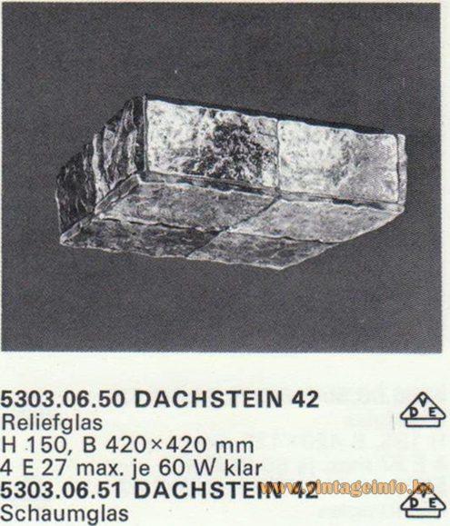 Kalmar Franken KG Flush Mount Dachstein 42