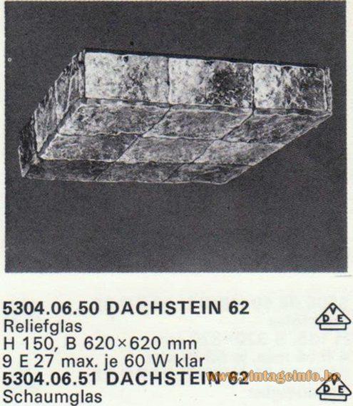 Kalmar Franken KG Flush Mount Dachstein 62