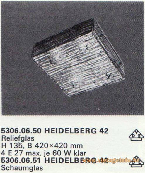 Kalmar Franken KG Flush Mount Heidelberg 42