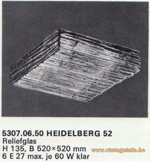 Kalmar Franken KG Flush Mount Heidelberg 52