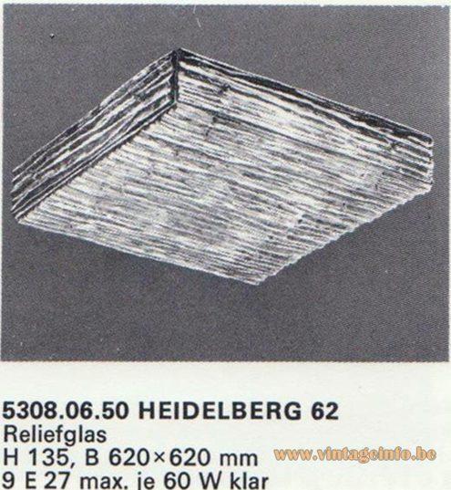 Kalmar Franken KG Flush Mount Heidelberg 62