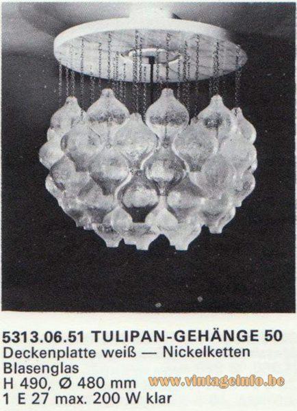Kalmar Franken KG Tulipan Flush Mount 50