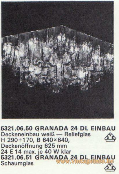 Kalmar Franken KG Recessed Flush Mount Granada 24 DL